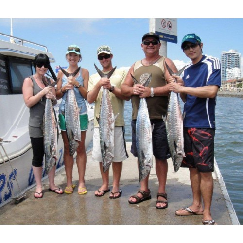Bk 39 s gold coast fishing charters go fishing and have a for Fishing charters cleveland ohio