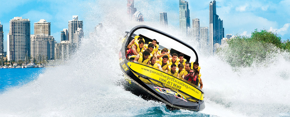jet boating gold coast