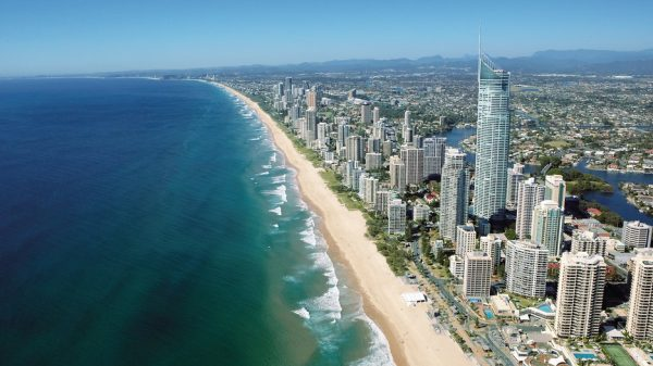 gold coast beach christmas