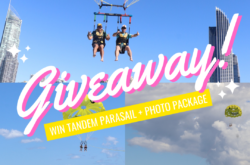 🪂 WIN! $200 Tandem Parasail + Photo Package 🪂